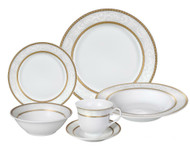 Lorenzo Amelia Dinnerware Set (Service for Four)