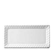 L'Objet Aegean White Rectangular Platter