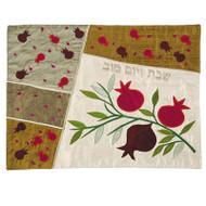 Pomegranate Silk Challah Cover