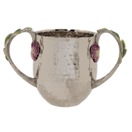 Pansy Hammered Washing Cup