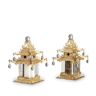 L'Objet Pagoda Salt and Pepper Set