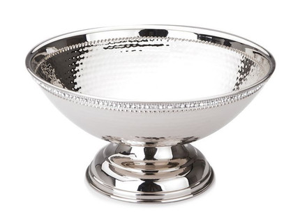 Classic Touch Footed Bowl with Diamonds