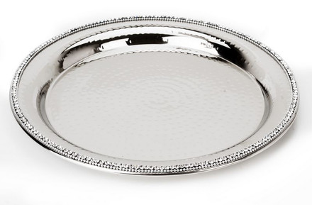 Classic Touch Round Tray