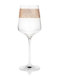Godinger Eclipse Gold Wine Glass