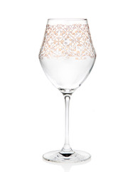 Godinger Allegra Gold Wine Glass Set