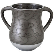 Unbreakable Aluminum  Washing Cup- Grey Marble
