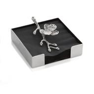 Michael Aram White Orchid Cocktail Napkin Holder