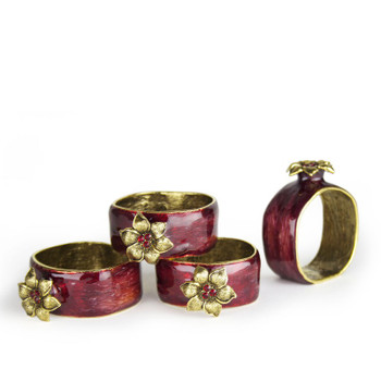 Pomegranate Napkin Rings
