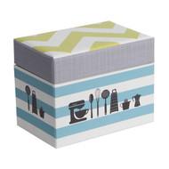 Kitchen Gear Recipe File Box