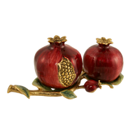 Pomegranate Salt & Pepper Shakers