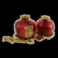 Pomegranate Salt & Pepper Shakers