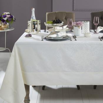 Mode Living Aspen Tablecloth- White