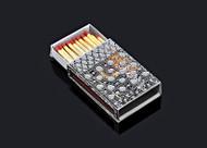 Metalace Ribbon Lace Matchbox