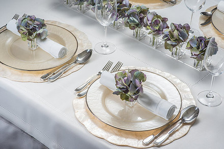 Fauxever Florals Store+Décor Napkin Ring System Cloud -LV/GRY