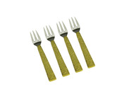Spaghetti Gold Dessert Forks (Set of 4)