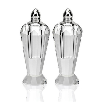 Badash Preston Salt & Pepper Set- Platinum (H192P)