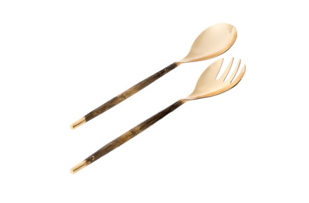 Gold Salad Servers (Set of 2)