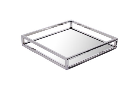 Square Mirror Tray