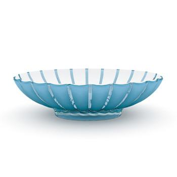 Guzzini Grace Centerpiece/ Fruit Bowl- Blue