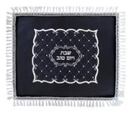 Velvet Ornament Challah Cover