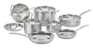 Cuisinart Multiclad Pro Stainless Steel 12-Piece Cookware Set