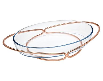 Godinger Oval Baker- Copper (84355)