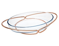 Godinger Oval Baker- Copper (84355)