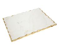 Godinger White Marble Challah Board (61863)
