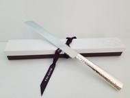 Hazorfim Hammered Challah Knife (GAM-18248-0000)