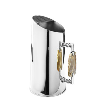 Stainless Steel Pitcher with Agate Stone Handles (ASP686)