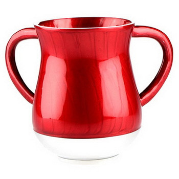 Unbreakable Aluminum Washing Cup - Red (GAM54210)