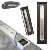 Lucite Mezuzah Case - Charcoal (LL-LMC-C)