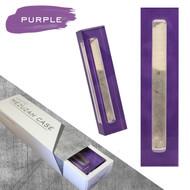 Lucite Mezuzah Case - Purple (LL-LMC-P)