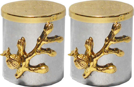 Karshi Hammered Salt & Pepper w/ Pomegranate Branches (CS-9398 )