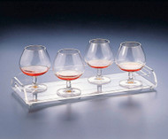 Huang Acrylic Rectangle Serving Tray