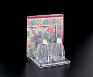 Salt & Pepper Shaker with Napkin Stand