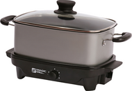 6 Quart Slow Cooker with Cover Knob