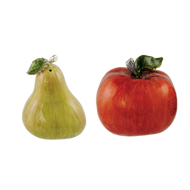 Apple & Pear Salt & Pepper Shakers
