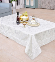 Concord Damask Design Tablecloth