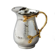 Golden Vine Hammered Pitcher Stainless Steel