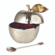 Golden Vine Honey Pot with Spoon