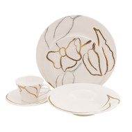 Artisan Bone China Dinnerware (Service for 1)