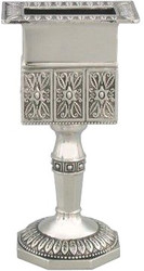Nickel Octagon Havdalah Candle