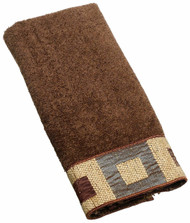 Precision Mocha Fingertip Towel