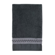 Braided Cuff Granite Fingertip Towel