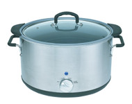 Magic Mill Oval Crock Pot with Handles