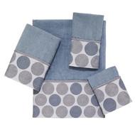 Dotted Circles Mineral Wash Cloth