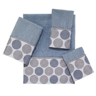 Dotted Circles Mineral Wash Cloth