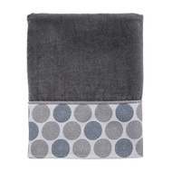 Dotted Circles Nickel Bath Towel
