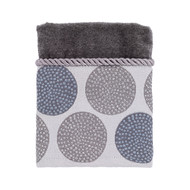 Dotted Circles Nickel Washcloth